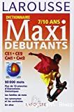 Dictionnaire maxi-débutants